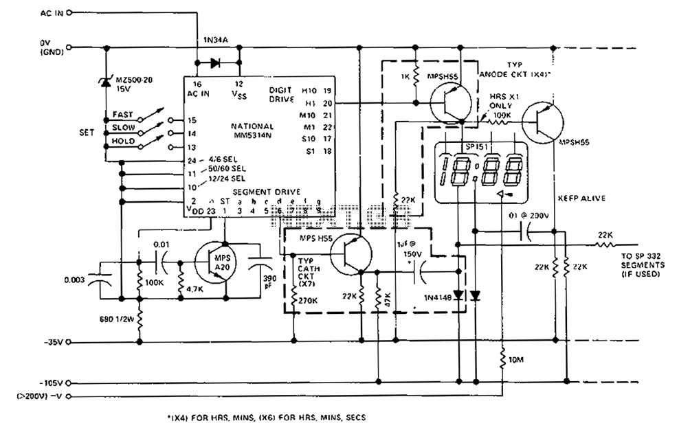 block diagram of gas leakage alarm