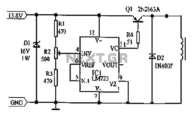 12v linear regulator for transceiver radio