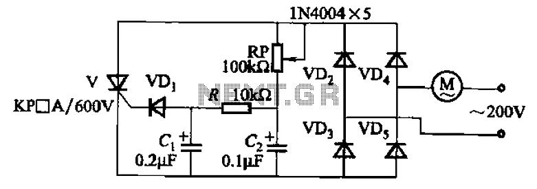 dynamic braking circuit control thyristor