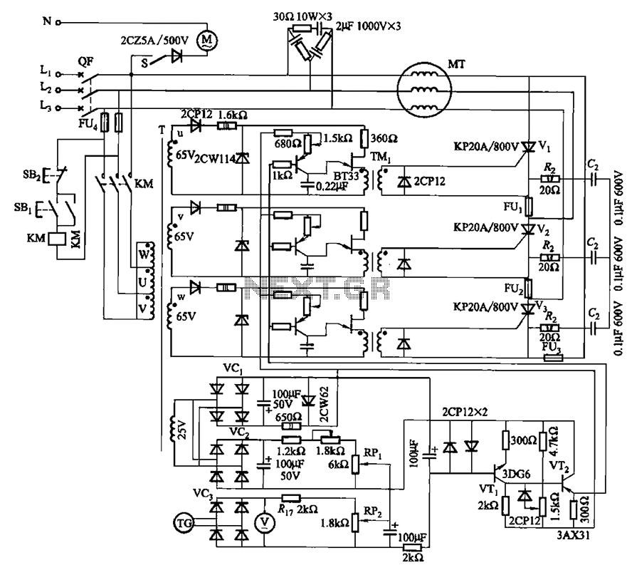 ac motor driver circuit ac motor kit picture