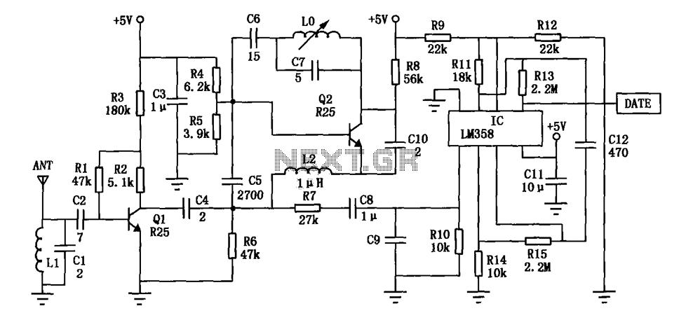 80mw fm transmitter circuit diagram schematic