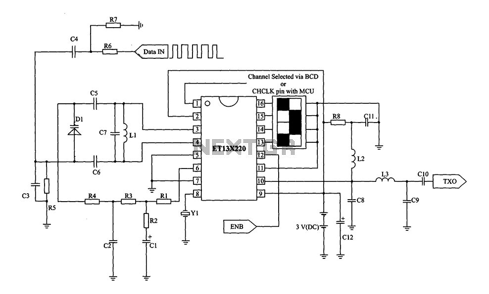 making frequency modulation circuit