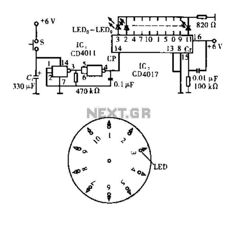 electronic watchdog circuit diagram