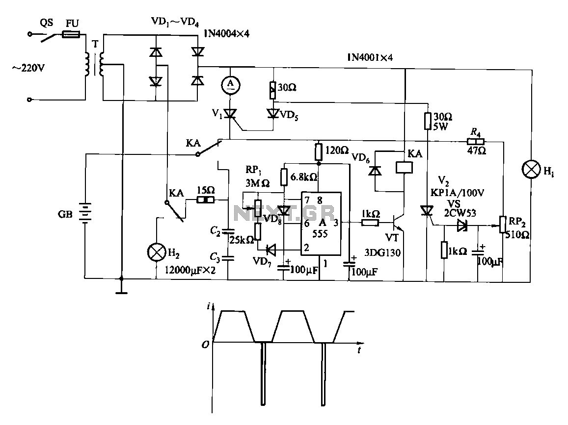 battery charger circuit page 4 power supply circuits nextgr