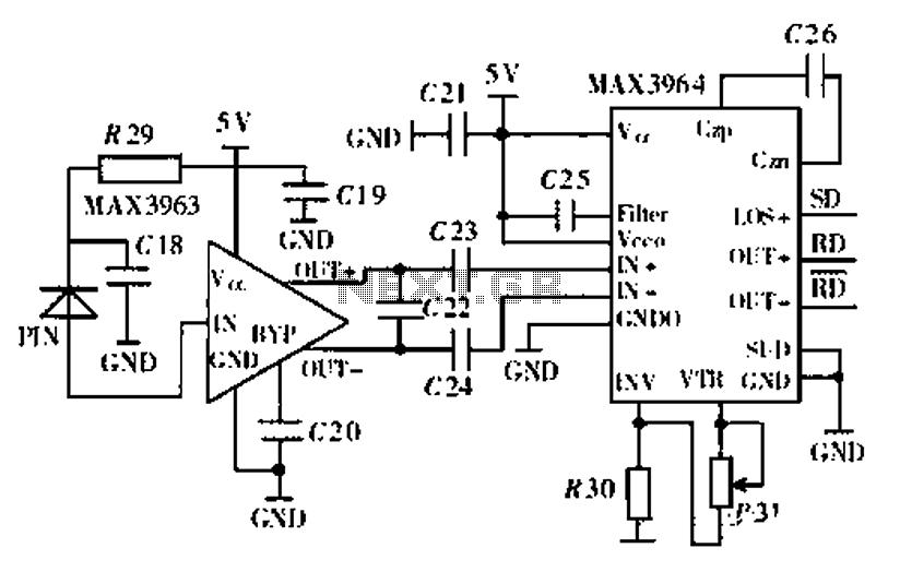 pin optical mouse circuit diagram on pinterest