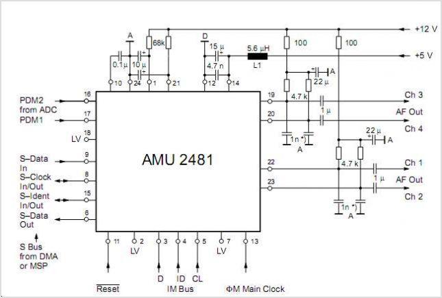 circuits schematic mono audio mixer audio amplifier schematic