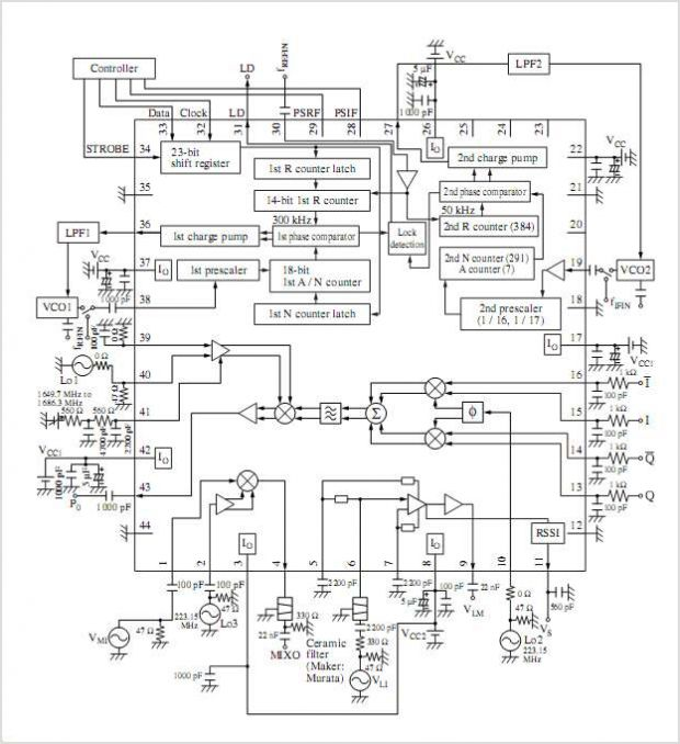 circuit diagram 500mw fm pll transmitter 88108mhz using lmx3206