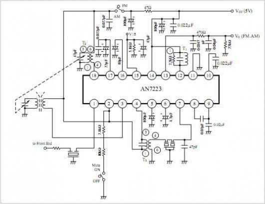 am radio circuits