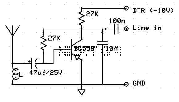 simple coil less am receiver by lf356