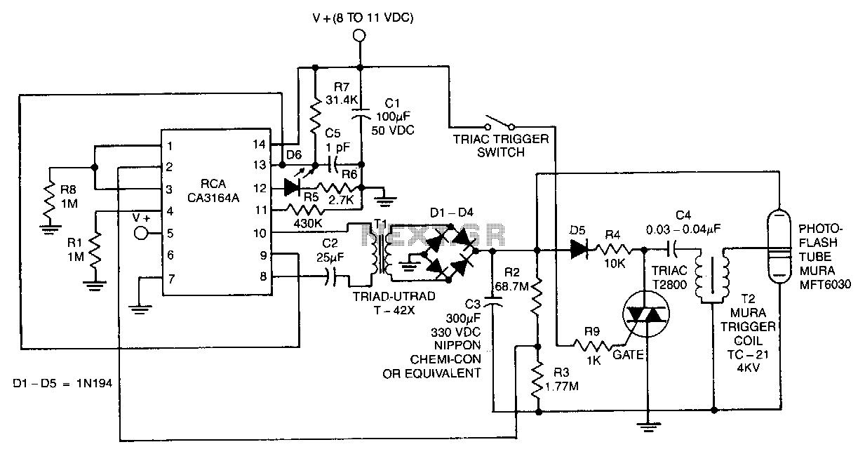 photo flash circuit video circuits nextgr