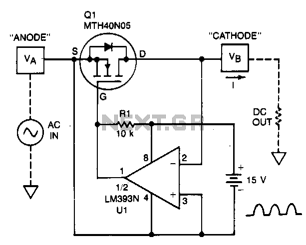 ac supply through an rl series circuit