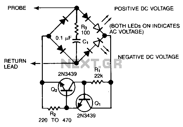4v 220v test led probe