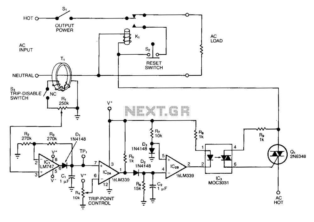 110 to 220 circuit breaker wiring diagram