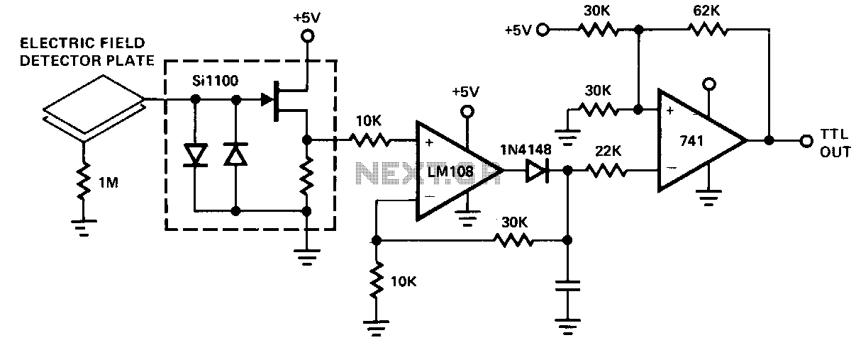capacitive proximity sensor circuit