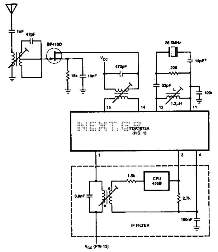 envelope detector schematic