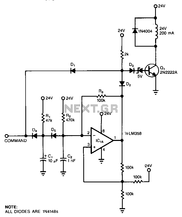 inrush current limiter relay