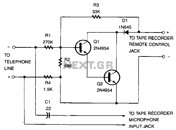 telephone recorder switch