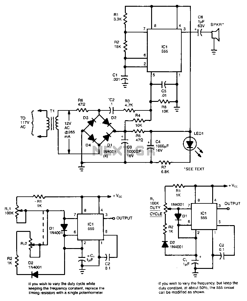 square wave applied to rl circuits
