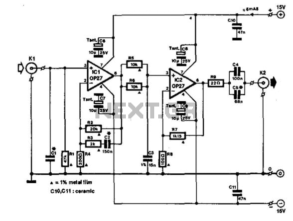 preamplifier input from moving coil head