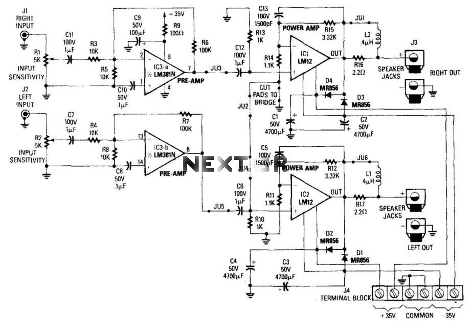 car audio circuit automotive circuits nextgr