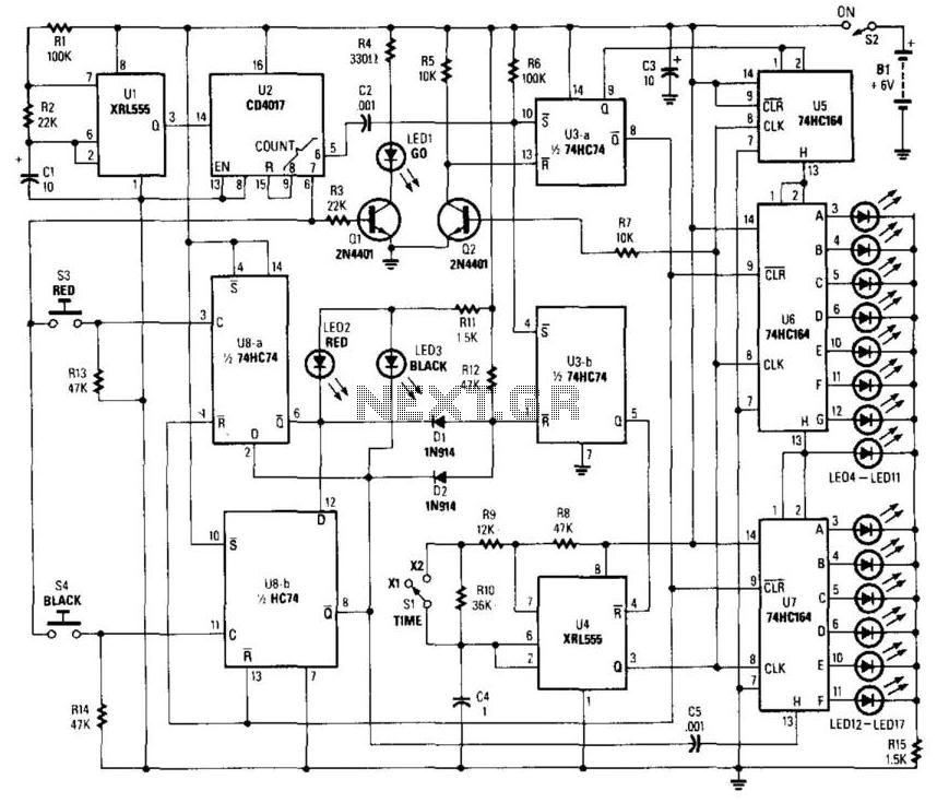 best combination lock pic16f84 circuit diagram super circuit