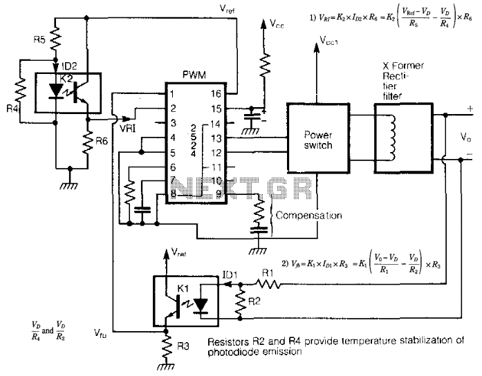 tripler converts 5v to 15v by max1683