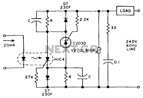solid state relay latching