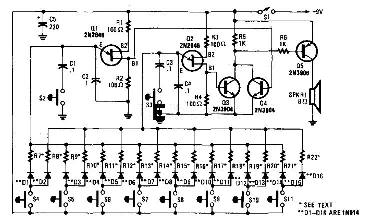 ujt organ circuit today39s circuits