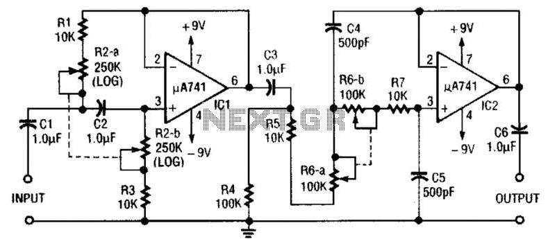 subsonic filter circuit