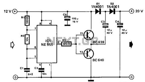 rf power doubler amplifiers