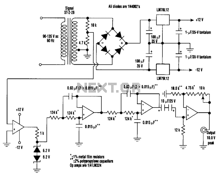 xr2206 function generator auto electrical wiring diagramphase shift oscillator circuit diagram