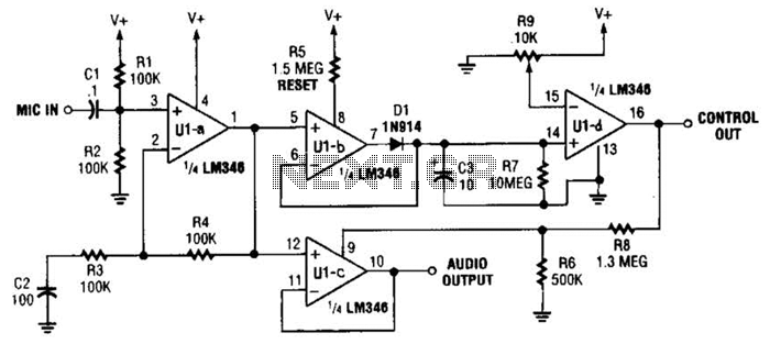 voice detector circuit diagram