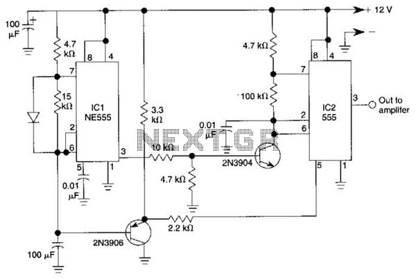 oscillators circuits 555 one hour 555 timer circuit