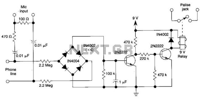 voice recorder circuit sound recorder circuit