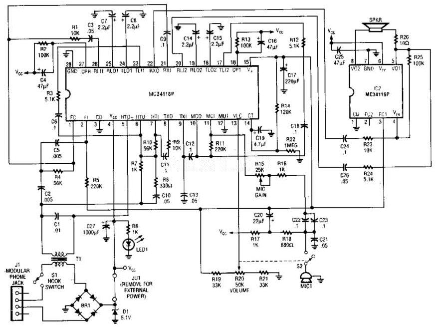 telephone schematic
