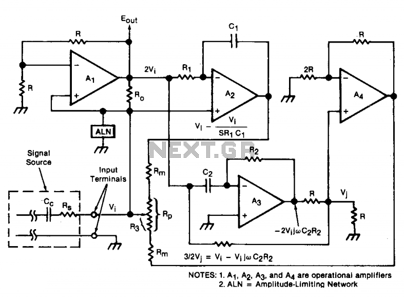 wave generator circuit the circuit can produce the sine wave with less