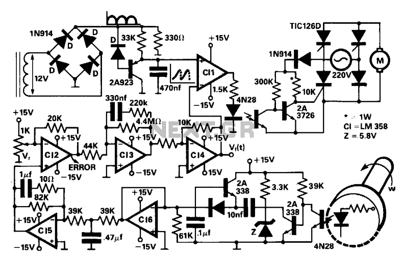 motor control circuits automation circuits