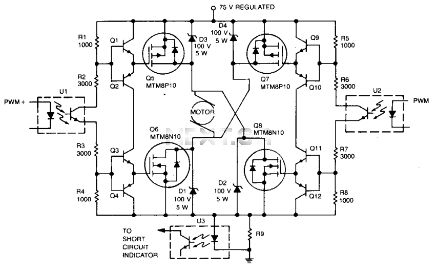 a3952s dc motor controller schematic circuit