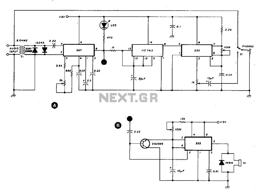 transmitter circuit rf circuits nextgr