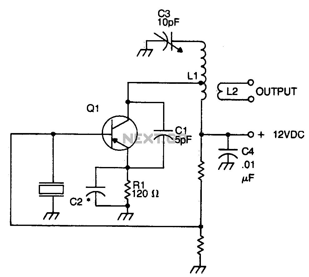 crystal oscillator circuits