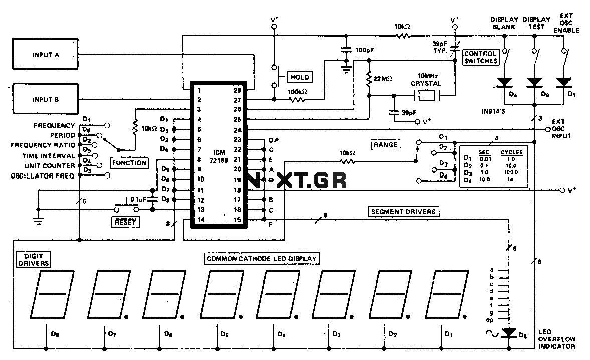 Frequency Meter Circuit Counter Circuits Next Gr Auto