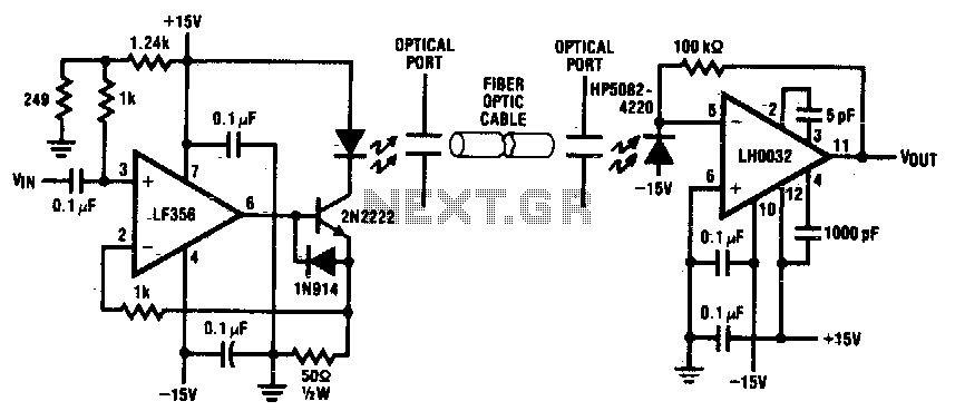 fiber optic cable schematic symbol