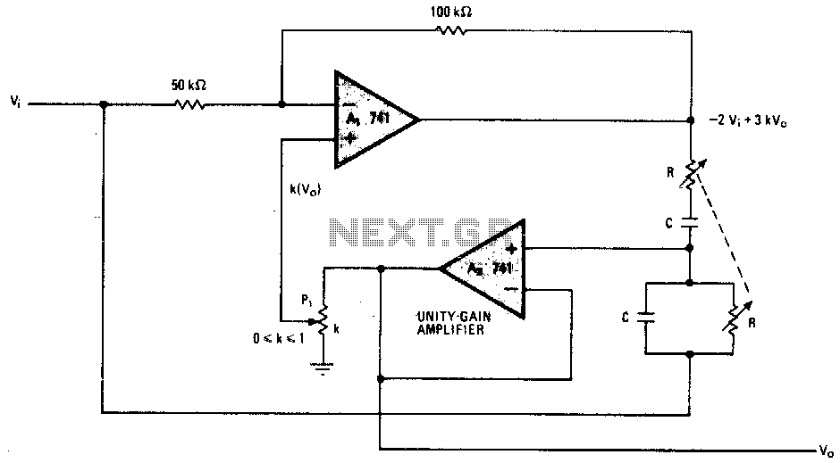 variable q twin t notch filter
