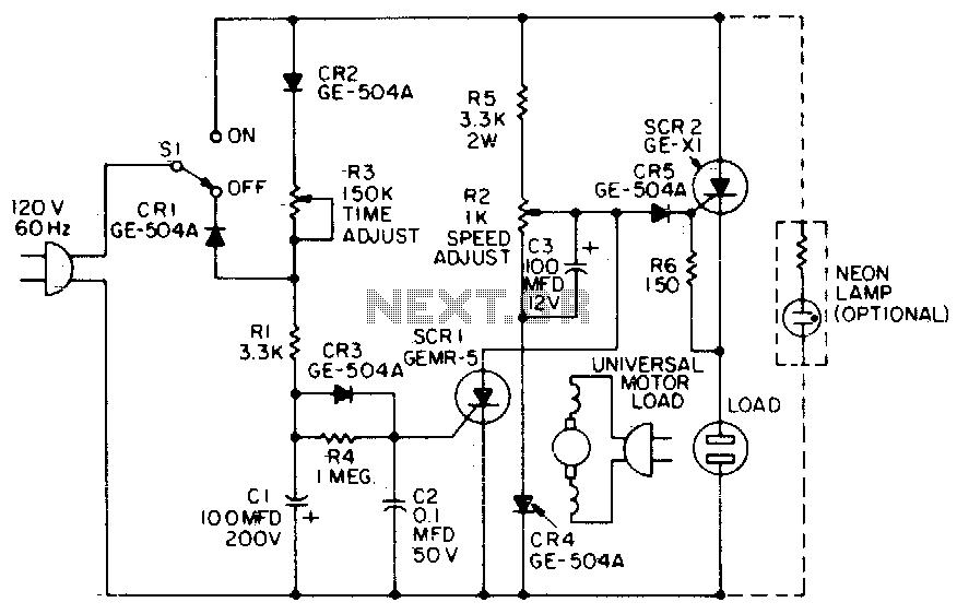 motor speed control circuit tutorial