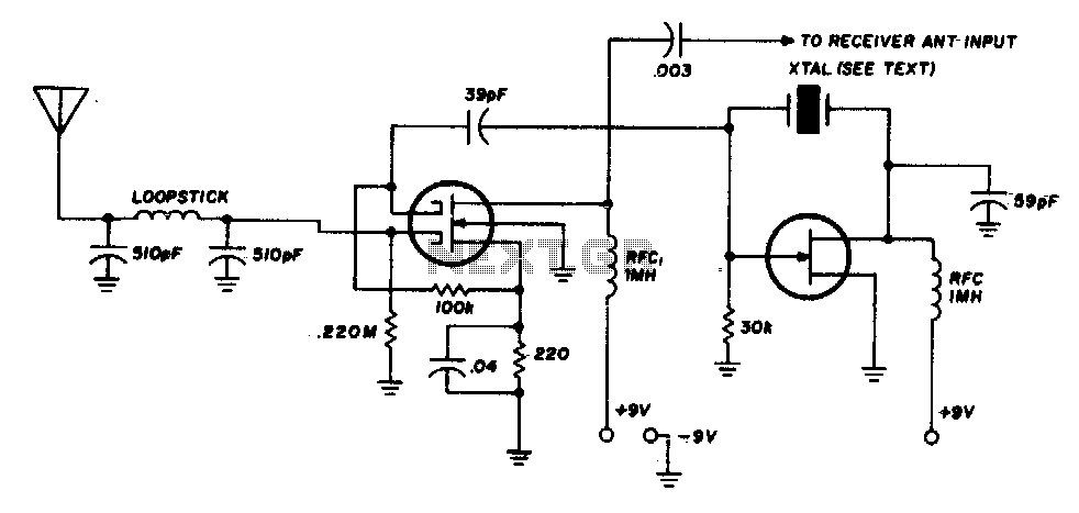 transistorized am radio circuit