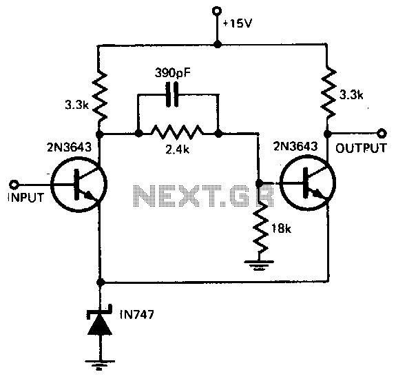discrete transistors schmitt trigger