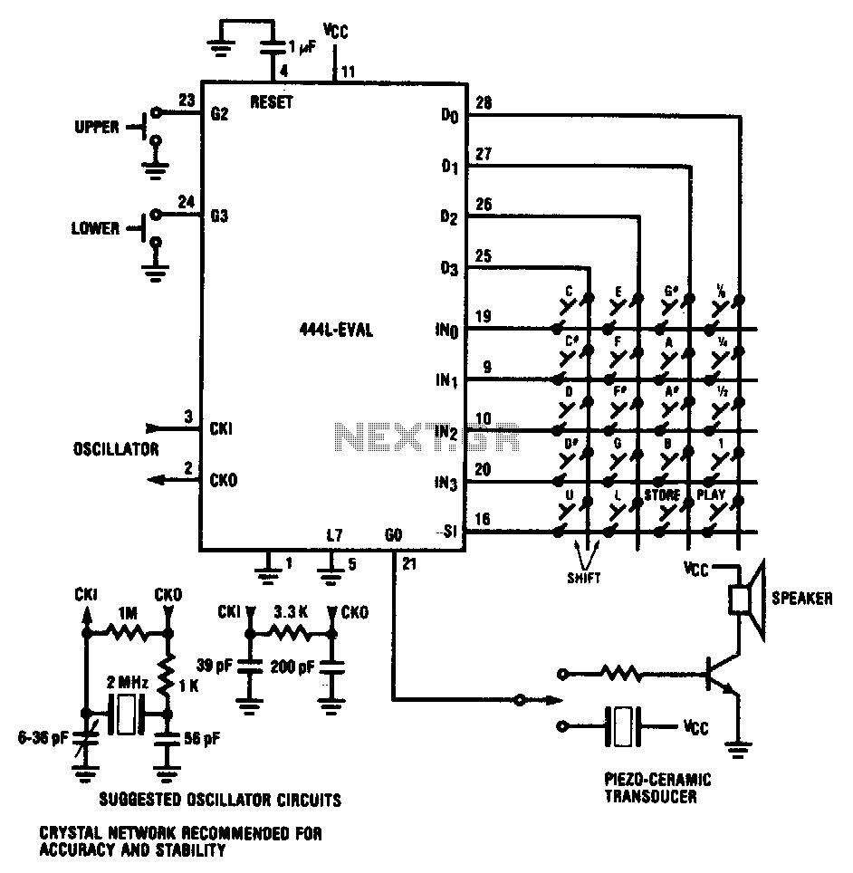 ujt organ circuit