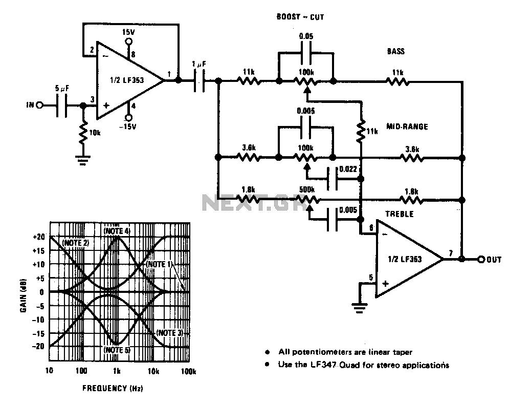 Schaltplang for motor circuits