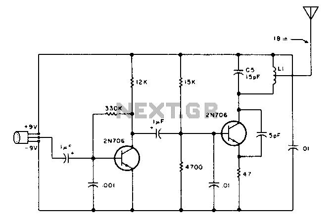 vhf center frequency fm transmitter