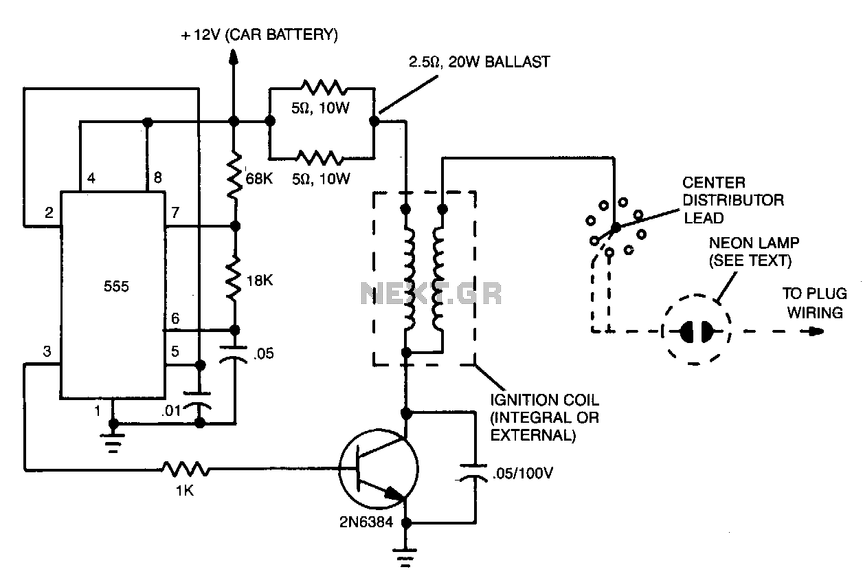 car transistor ignition schematic design